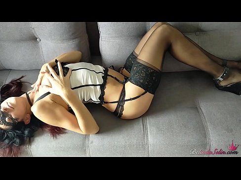 Gorgeous Babe In Sexy Lingerie Sucks and Hard Fucks While Husband Is At Work