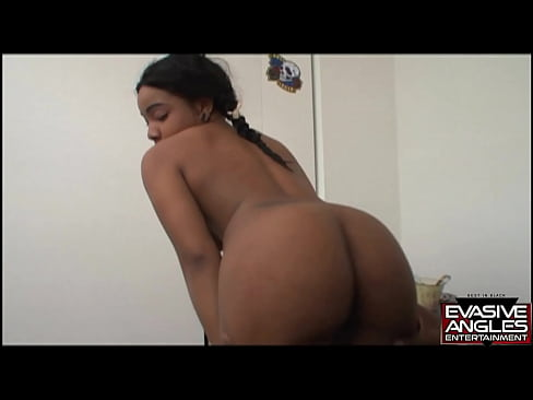 EVASIVE ANGLES Black Bubble Butt Bunnies. Cute Black Cheerleader Gets Her Pussy Licked and Penetrated by Her Boyfriend