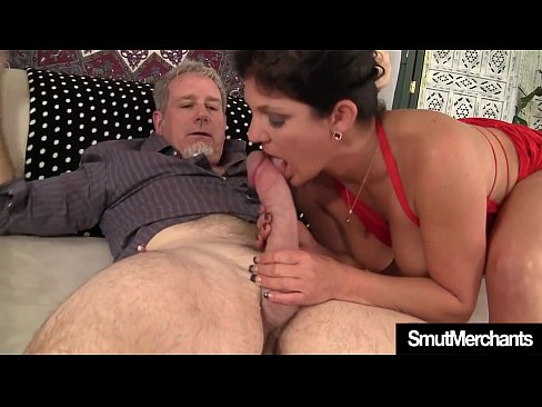 Brunette MILF fucked and cum in mouth's Thumb