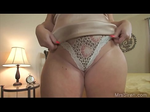Chubby Wife Dressed Up for Boytoy
