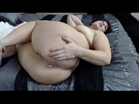 Skinny doggystyle cumming messy