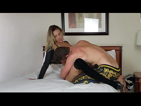 HOT VICTORIA secret model ADDIE ANDREWS pounded by TOMMY WOOD