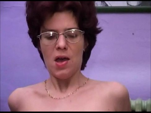 Mature Glasses Hairy with