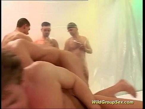 Wild Hardcore Gangbang All Holes Filled
