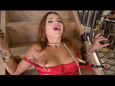 Ass To Mouth BDSM Action Feat. Big Cock Addict Daphne Klyde Roped & Spanked GP130