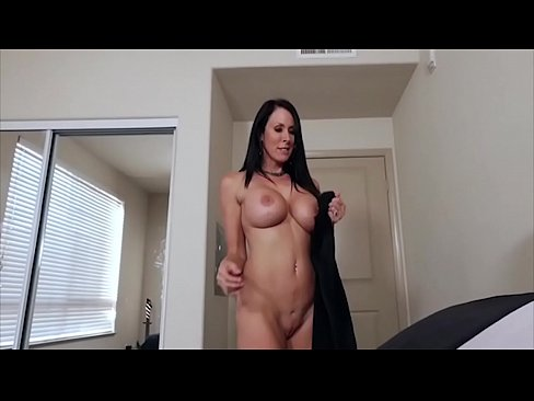 Brunette mom is sexually involved with me