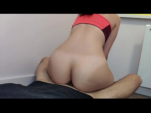 Brother fucked athletic stepsister with big ass in yoga pants