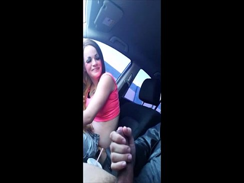 Interracial Milf Car Blowjob
