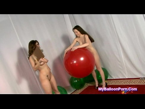 Balloon popping sluts