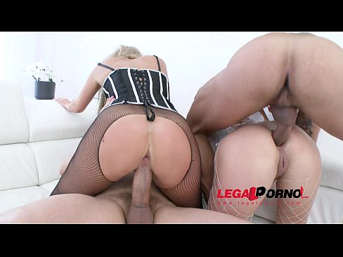 Jenny Simmons & Brittany Love double anal 4some (DAP) for Legal Porn SZ866