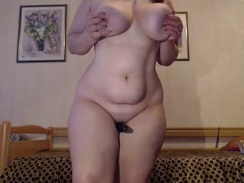 Bbw white shows off her perfect curves