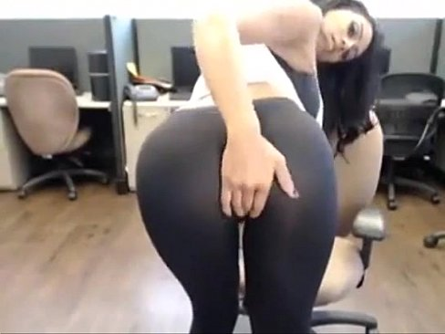 Emily Willis Ripped Yoga Pants