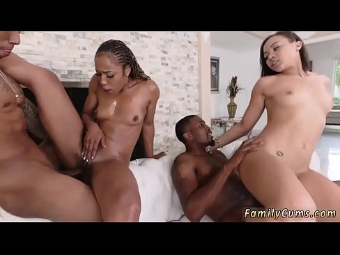 Black Step Dad Ebony Daughter