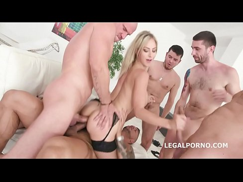 cover video natalie cherry gaped with 5on1 dap and balls deep anal
