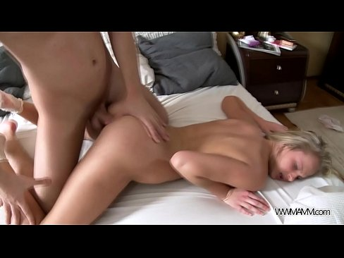 Blonde super hot babe Ivana Sugar filled in both holes with big cock