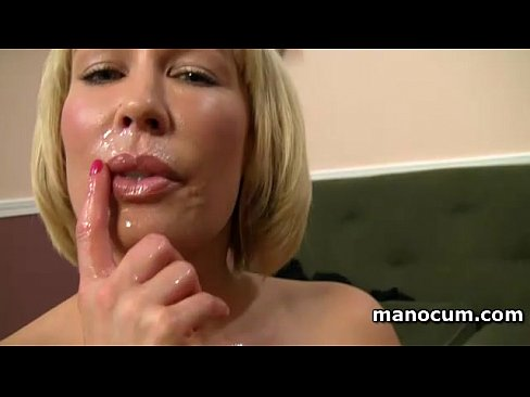 Clip sex Big boobed MILF giving tugjob in POV and taking a jizz shot