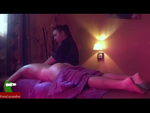 Horny experience on the massage table. SAN107