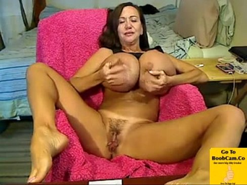 Busty Mature Mom Plays Well!