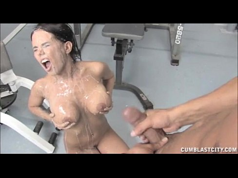 asian gym cum on ass -