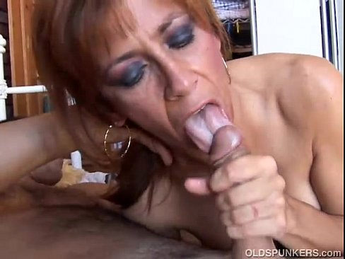 Redtube cougar blowjob