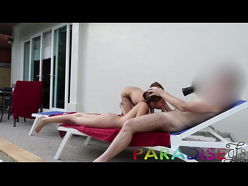 Paradise Gfs - Twins taking turns getting fucked and sucking cock