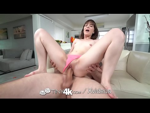 TINY4K Tiny Tight Pussy Stuffed With Cock For Thanksgiving