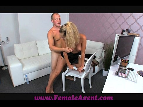 Female Agent Has Lap Dance On Prick In Casting 1
