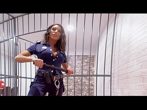 VRBangers.com August Ames Get fucked hard in prison