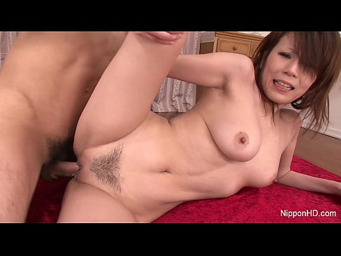 Asian hottie gets thrown on bed and her tits and cunt sucked then fucks 10
