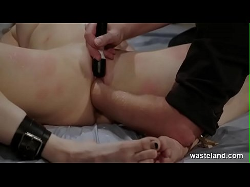 Submissive Blonde Bound In Maledom BDSM Action With Sadism Masochism And Wax