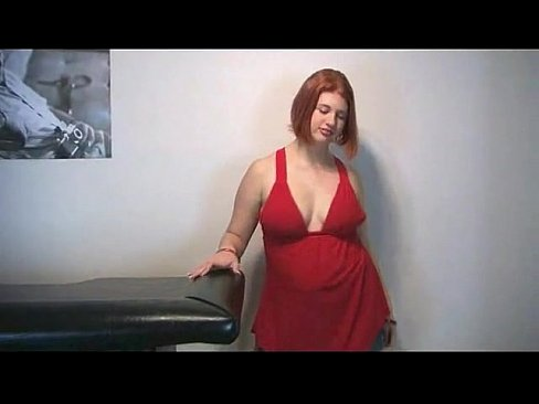Redhead Fatty Show Red Hairy Cunt