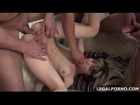 Gina Gerson DAP'ed (mini Gangbang & First Time Double Anal)  GIO002