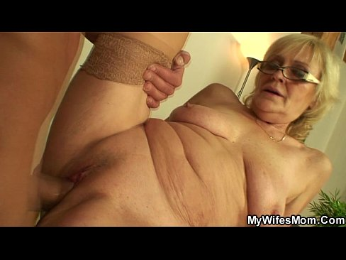 Mom in law video sex