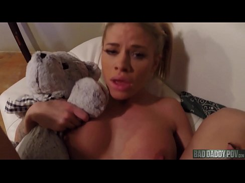 Mommy Left Jessa Rhodes Tied Up For Dad To Play With