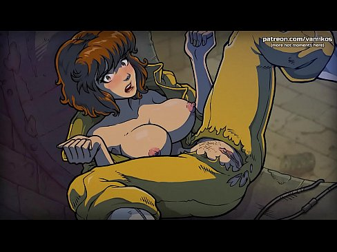 TMNT cartoon porn. April gets some cum in her pussy l Hottest highlights l The Mating Season l Part #2