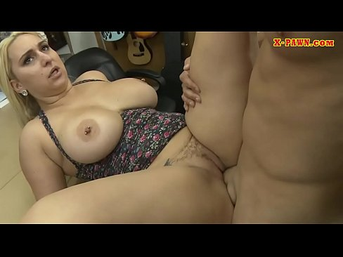 Huge Boobs Amateur Railed By Pawn Keeper