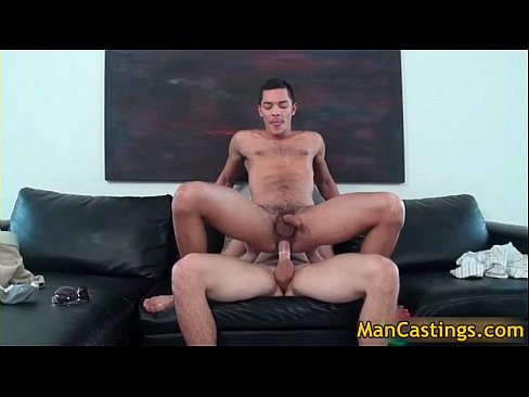 Attractive gay hunk sucks fat rigid cock gay porn