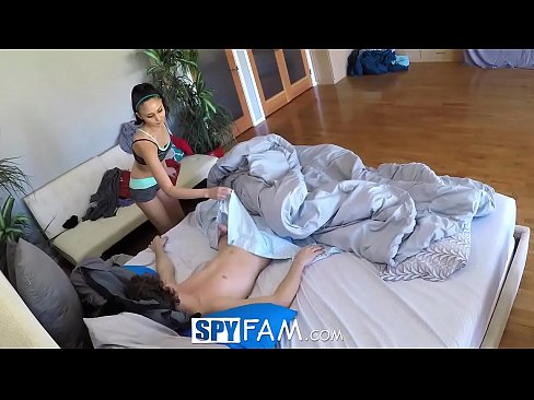 Spyfam step sister lilly ford fucks step brother