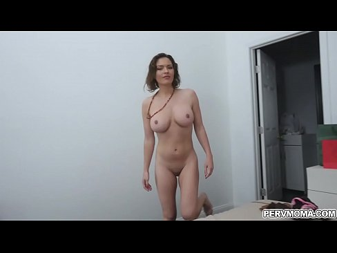 Clip sex Busty hot momma Krissy Lynn gave her handsome stepson a nice titty fuck and even swallowed his hot cum.
