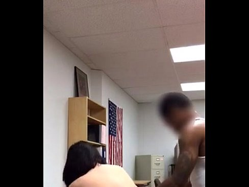 Asian fucked at work