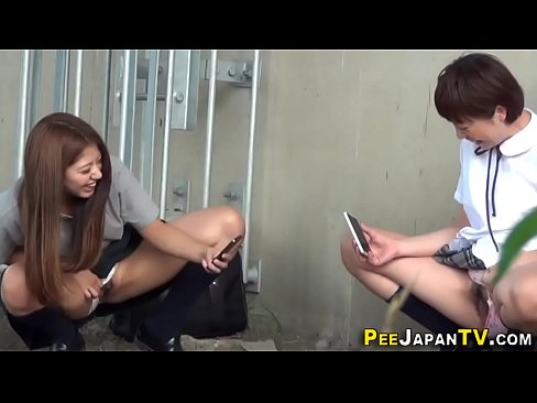Image Japanese teens gush urine