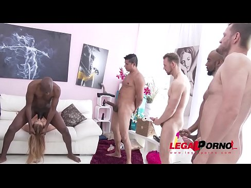 Alexis Crystal gets 5 creampies after a TREMENDOUS anal fucking & DP