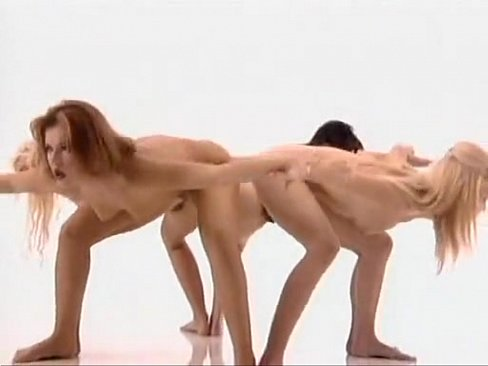 Totally nude aerobics video clip