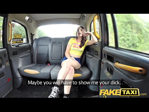 Fake Taxi Olive skin brunette gets fucked on car bonnet's Thumb