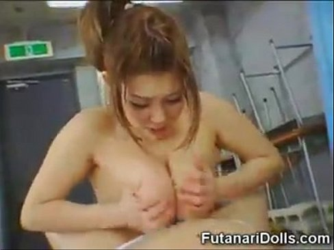 Lusty jap sucked and jerked