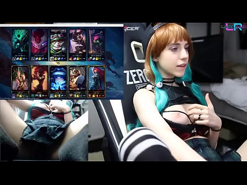 Clip sex Teen Playing League of Legends with an Ohmibod 1/2