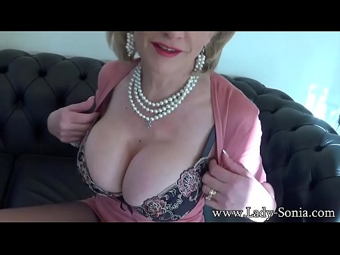 Clip sex Lady Sonia Sheer To Waist Pantyhose And Deep Plunge Bra