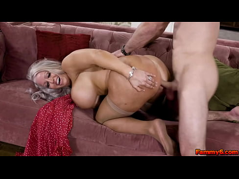 Pervy mature mom wants to try her stepsons fucking talent