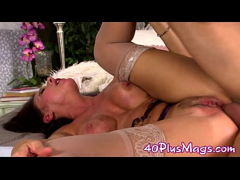 Mature Hairy Brunette Anal