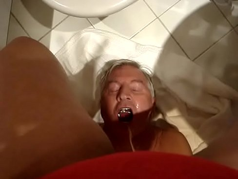 Get up hot sshow pissing on man.MPG